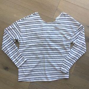 Small Francesca's striped top